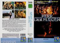 """VHS - """" Herr der FLIEGEN """" (1990) - Balthazar Getty - Chris Furrh"""