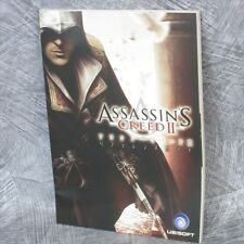 ASSASIN'S CREED II 2 Reference Guide Japan Book PS3 Xbox Ltd Booklet