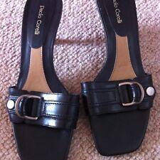 Paolo Corelli Black Ladies Shoes Size 7