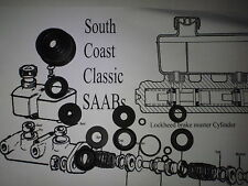 SAAB 95 96 V4 Sonett NEW brake master cylinder kit LOCKHEED SSB1217