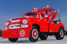 RARE FIRE DEPT. NEW YORK FDNY 1958 GMC WRECKER - First Gear TOW