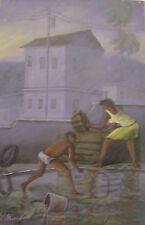 Beautiful 16 X 24 painting by Haitian Artist Jean L. Pierre-Louis