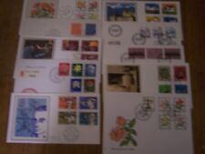 20 DIFFERENT SWITZERLAND FIRST DAY COVERS,ALL CLEAN,BEAUTIFUL LOT,EXCELLENT.