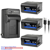 Kastar F980 Battery Wall Charger for Sony NP-F970 MVC-CD1000 MVC-CD400 MVC-CHF81