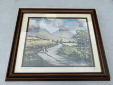 Framed glazed print In The Mournes Co. Down' LotBRE10