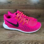 Nike Free 5.0 Bright Pink Running Athletic Shoes Women's Size 7