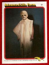 STAR TREK - MOVIE - Card #31 - ADVANCED LIFE FORM - TOPPS 1979