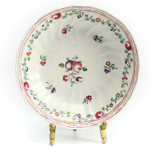 Chinese Export Porcelain Saucer, 19th Century Hand Painted Multicolored Floral