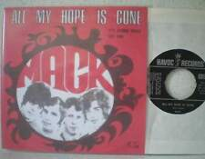 "MACK All my hope is gone (LISTEN) RARE 7"" 1966 psych poprock / Nederbiet Havoc"