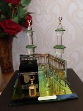 Crystal Glass Mecca Makkah Allah Kaaba Islamic Home Decor Ramadan Eid Gift Boxed