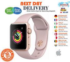 Watch Series 3 38mm Rose Gold Aluminium Case GPS Pink Sand Sport Band Apple