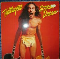TED NUGENT - Scream Dream - Vinyl LP UK 1980
