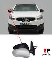 FOR NISSAN QASHQAI 2007-2014 NEW WING MIRROR ELECTRIC HEATED PRIMED 7 PIN RIGHT