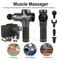 US Therapy Massage Gun Percussive Vibration Recovery Relaxing Muscle Massager