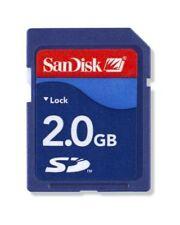 2GB SD Camera Memory Cards