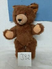 Alter Teddybär mit Stimme um ca 1970 Länge ca 45 cm (JB2)