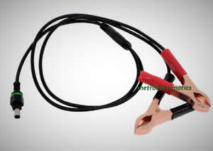 GOAL ZERO 6MM MALE TO ALLIGATOR CLAMP CABLE 12V BATTERY GUARDIAN CONTROLLER