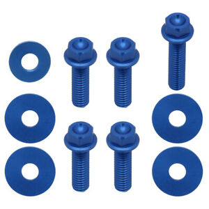 Bolts Screw of Front Fender Numner Plante For Yamaha YZ250F 450F WR450F 250F