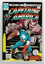 FRENCH COMIC FRANÇAIS EDITION HERITAGE CAPITAINE AMERICA  #  130 / 131