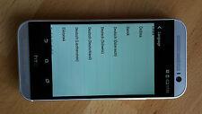 Smartphone HTC One M8 - 32GB in SILBER ohne Simlock ; Anschauen lohnt !!!