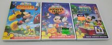 New ~ Mickey Mouse Dvd Lot Mickeys Storybook ~ Mickeys Treat ~ Clubhouse Hunt