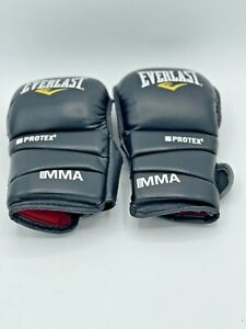 Everlast Protex 2 MMA Training Gloves Universal Fit Size Large Black