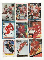 92 count lot mixed Darren Mccarty CARDS w/ 25 rookie cards Detroit Red Wings RW!