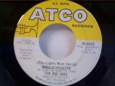 "BEE GEES ""(THE LIGHTS WENT OUT IN) MASSACHUSETTS / SIR GEOFFREY SAVED THE..."" 45"