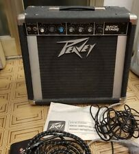 PEAVEY BACKSTAGE AMPLIFICATORE COMBO 20WATT MADE in USA back stage + jack Fender