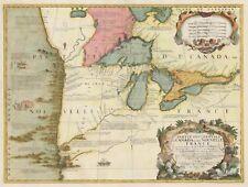 1688 Partie Occidentale du Canada ou de la Nouvelle France...