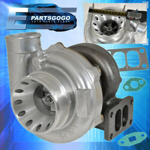 T70 Turbo Charger Vband Dual Port Entry Upgrade T3 .70A/R Wrx Sti Supra 500+ Hp