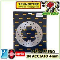 Brake Disc Rear Steel 4mm Gilera DNA 50 2000 - 2007