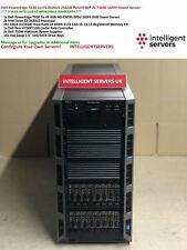 Dell PowerEdge T630 2x E5-2620v3 256GB PercH730P 2x 750W 16SFF Tower Server