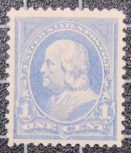 Scott 246 - 1 Cent Franklin - OG MH - Nice Stamp - SCV - $30.00