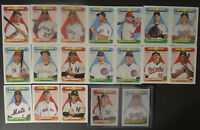 2018 Topps Heritage New Age Performers Baseball Cards You Pick From List