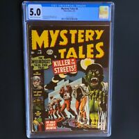 MYSTERY TALES #8 (Atlas 1953) 💥 CGC 5.0 💥 RARE STAN LEE & BILL EVERETT PCH