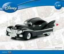 Motorama Disney 1:64 Auto Topolino MACCHIA NERA in Metallo