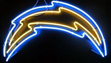 "New Los Angeles Chargers Logo Neon Sign 17""x14"""