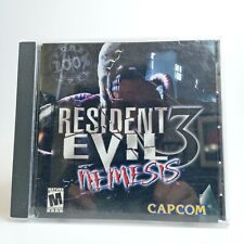 Resident Evil 3: Nemesis 1999 PC CD-ROM Windows LOOK Free Same Day Shipping
