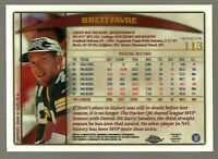 Brett Favre 1998 Topps Chrome 113 Refractors & Regular LOT HOF Green Bay Packers