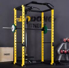 Power Rack / Squat Rack With Cables - Cable Attachment Upper / Lower! Brand New!