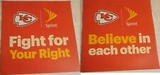 Kansas City Chiefs Super Bowl Parade Signs Fight For Right Believe In Each Other