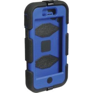 Griffin Survivor Military Heavy Duty Shock Case Belt Clip iPhone 5 5S SE Blue