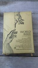 Vintage World Bible King James Version student text bible with Concordance