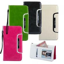 Luxury Shockproof Case for Samsung Galaxy Phones Cover Flip Wallet Card Slot Bag