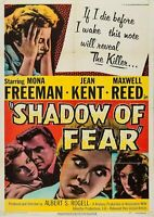 Shadow of Fear (Film Noir '55) Mona Freeman, Jean Kent, Maxwell Reed.