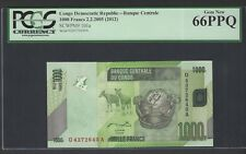Congo Democratic Republic 1000 Francs 2-2-2005(2012) P101a Uncirculated