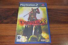 DEVIL MAY CRY 3  DANTE'S AWAKENING   + DEMO MONSTER HUNTER      ----- pour PS2