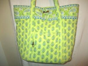 Vera Bradley Citrus Large Toggle Shoulder Tote Purse Bag