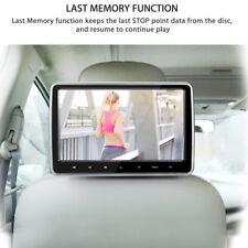 "Portable 10.1"" Ultra Thin Car Headrest Multimedia DVD Player Remote Control Kit"